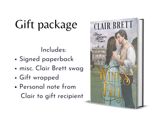 Single Book Gift Package-Winn's Fall