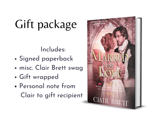 Marked for Love-IMPROPER WIVES FOR PROPER LORDS SERIES-book 3