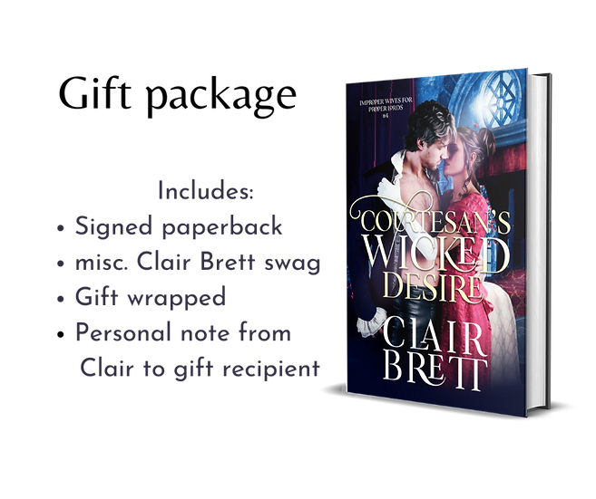 Courtesan's Wicked Desire-IMPROPER WIVES FOR PROPER LORDS SERIES-book4