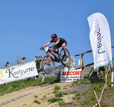 Dropped in for 6th place at the 3 Nationscup in Beringen