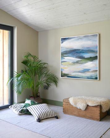 EARTH. 2020, 95 x 95 cm, acrylic & mixed media on canvas FOR SALE