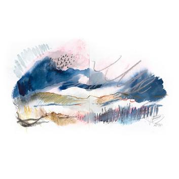 WINTERVI. 2020 60 x 42 cm, charcoal, ink & pastel on paper Framed£270, unframed£200