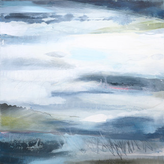 TRUST. 2020 73 x 73 cm, acrylic & mixed media on canvas  £750
