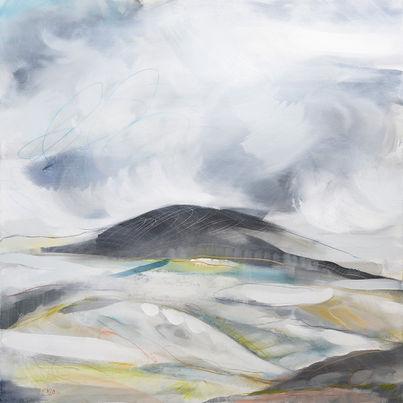 PRELUDE B. 2020 100 x 100 cm, acrylic & mixed media on canvas £950