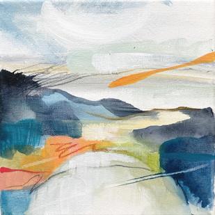 INWARD & THROUGH I. 2021 (SOLD) 24 x 24 cm, acrylic & mixed media on canvas