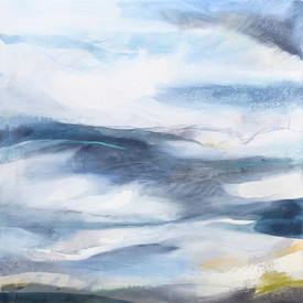 ZEPHYRUS. 2019 78 x 78 cm, acrylic & mixed media on canvas  £800