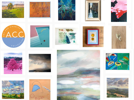 Art for Charity Collective raises £20K again!