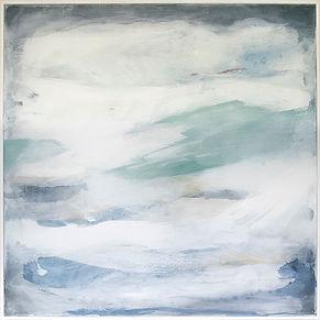 Miranda Carter, large abstract canvas, abstract painting, Rising Flow