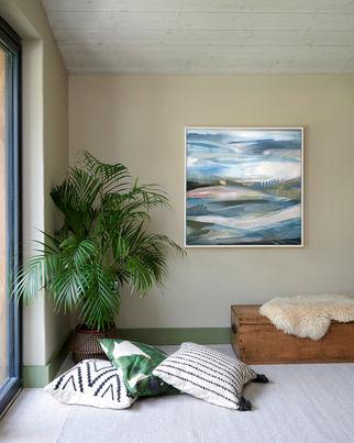 AETHER. 2019 81 x 81 cm, acrylic & mixed media on canvas £800