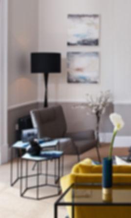 Miranda Carter, Silver Linings, Abstact paintings