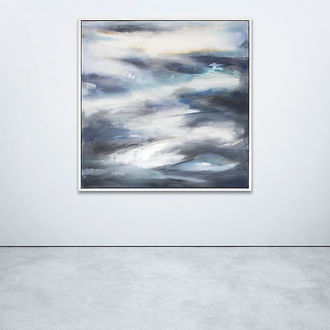Storm Clearing, abstract, abstract painting, abstract art, abstract landscape