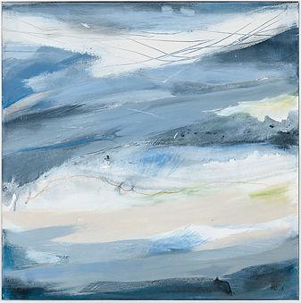 Miranda Carter, Surge I. Abstract paintings