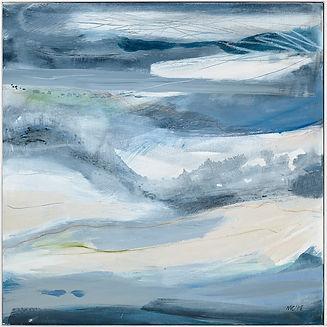 Miranda Carter, Surge II. Abstract paintings