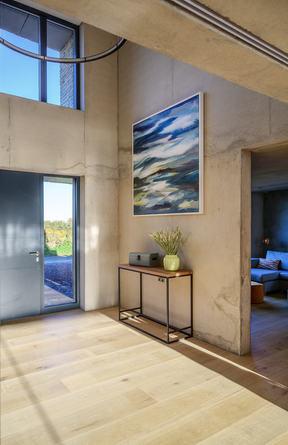 BOREAS. 2019, 120 x 120 cm, acrylic and mixed media on canvas