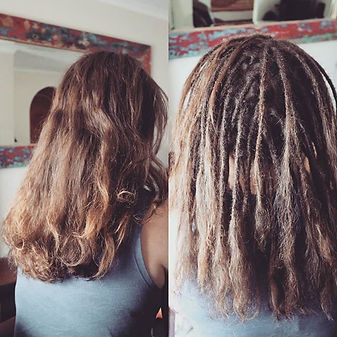 This new set of dreads totalled 95! The