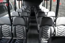 Gretch Bus interior 27 Passenger mini co