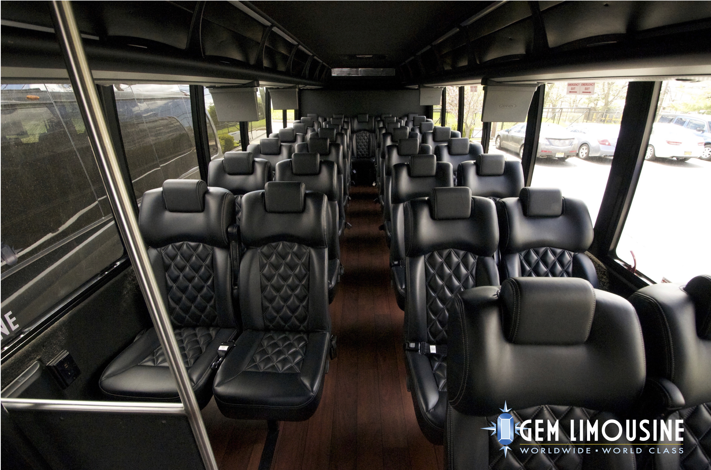 Gretch Mini-bus Interior View