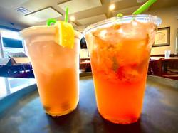 Cocktails strawberrys pub