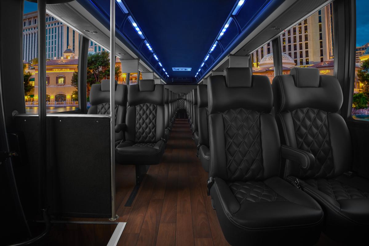 Worldwide Minibus Services Interior