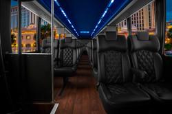Minibus Services Interior