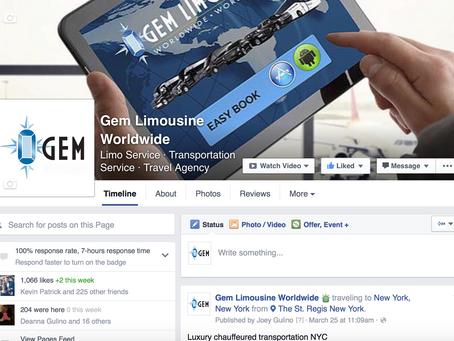 Like Gem Limo on Facebook!