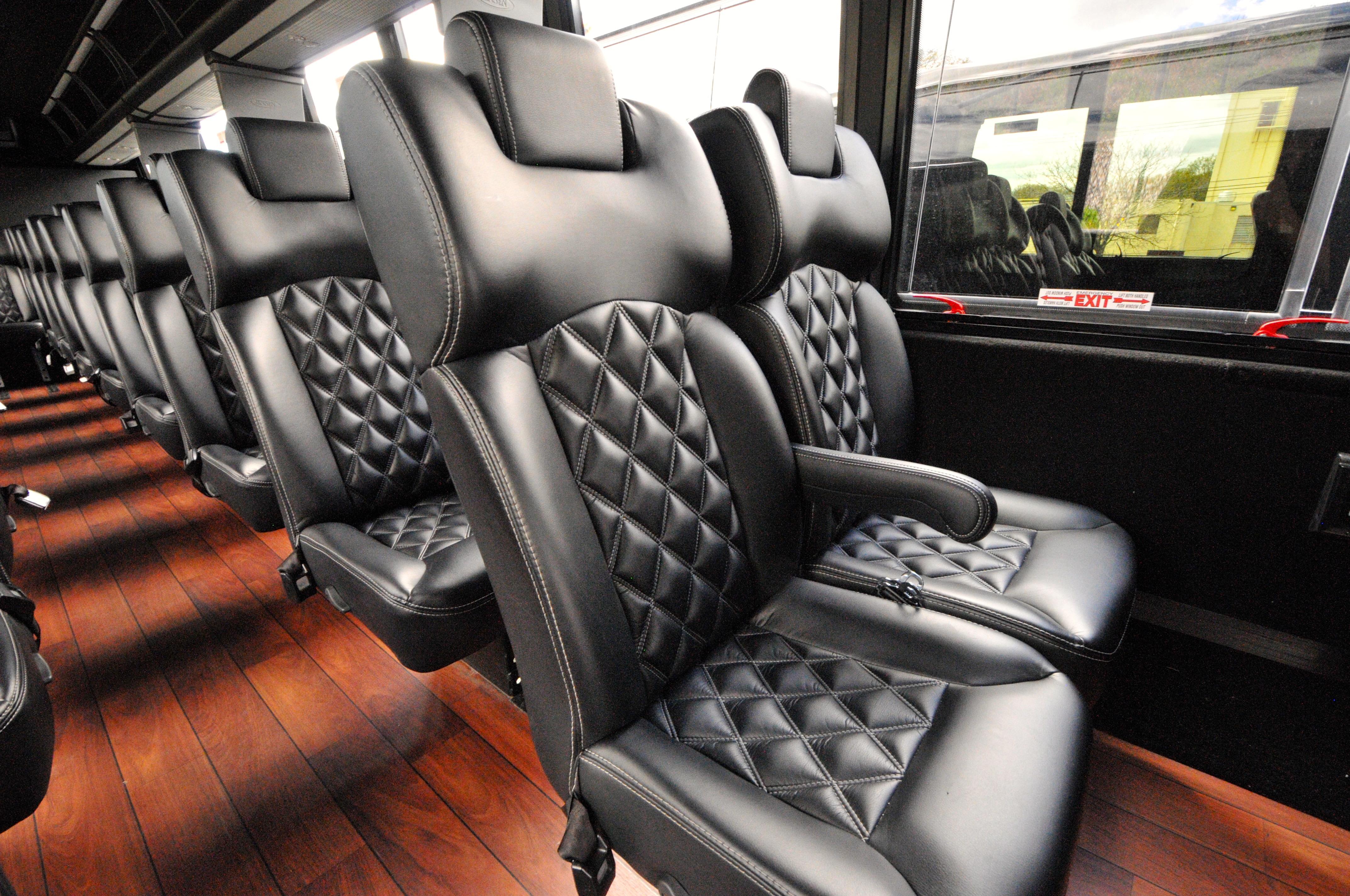 New Jersey Minibus Services Interior
