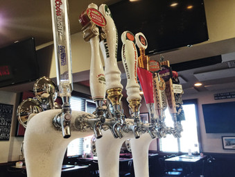 Frozen Draft Beer Taps