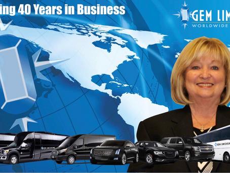 Gem Limousine Worldwide - Celebrating 40 Years in Business