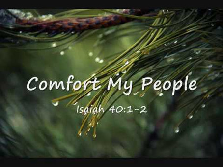 The Comfort of The Lord