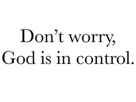 Don't Let Worry Consume You!