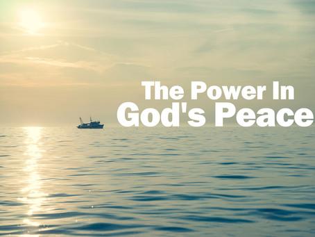 A Prayer For God's Peace