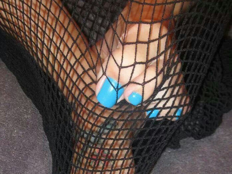 My Feet Were Caught In A Net!
