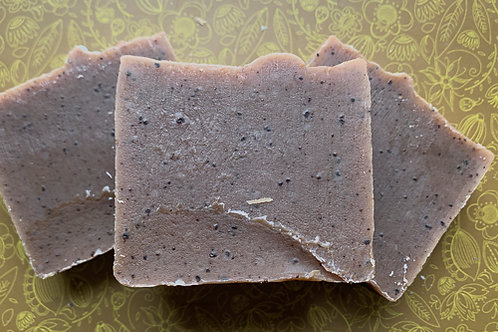 Scrub-a-Latte Coffee Goat Milk Soap