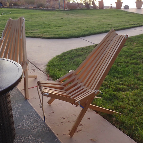 """Pioneer """"Stick"""" Chair"""
