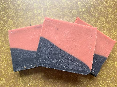 Grapefruit/TeaTree Slant Bar Goat Milk Soap