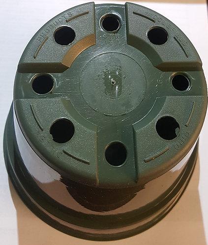 """4"""" x 3"""" Round Pots-Green - 5ct"""