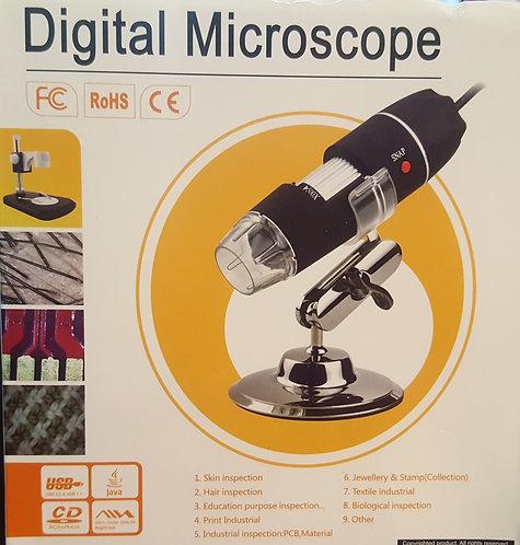 Digital USB Microscope - 1600x w/USB Connectors