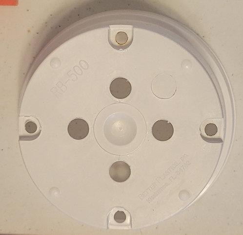 "5"" x 2.25"" Round Bulb Pan Pot-White - 5 ct"