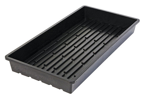 1020 Black Tray-Super Sprouter Quad Heavy Duty No Holes