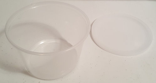 16oz Deli Container w/Lid - 10 ct