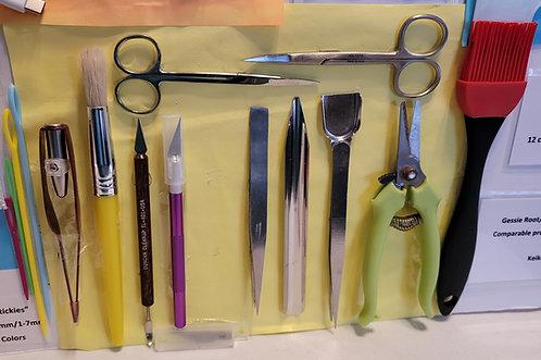 Grooming Tools Bag & 4 Grooming Tools Set