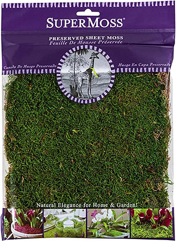 SuperMoss Sheet Moss - 8 oz