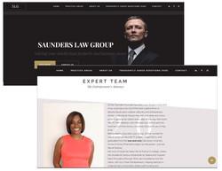 Saunders Law Website