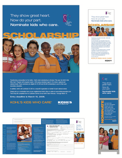 Kohl's Cares Scholarship Program