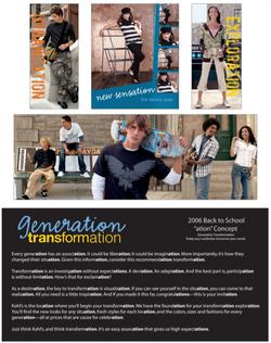 Generation Transformation Campaign