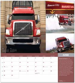 Volvo Trucks Calendar