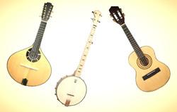 Bandolim, Banjo e Cavaco