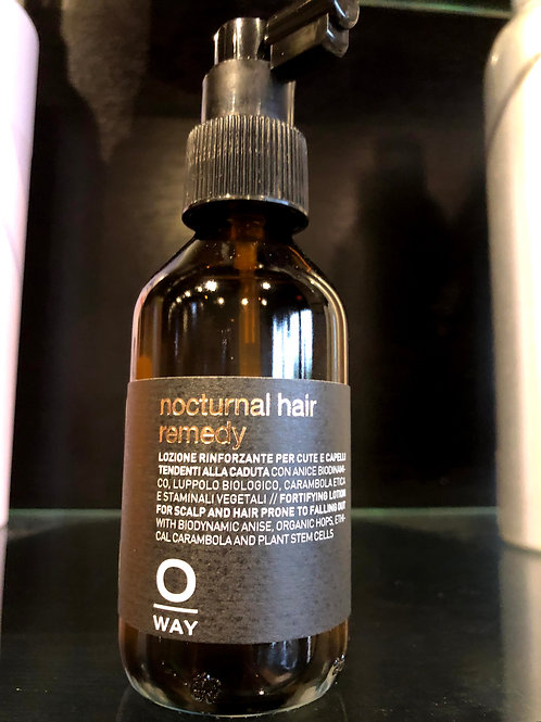 Noctural Hair Remedy to Prevent men's hair loss