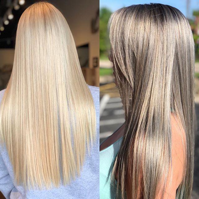 Perfect toner! Smoky silver custom blend!!!_#pravana #pravanaexpresstoners #babylights #beauty #chicago #color #smoothhair #bestsalon #cryst