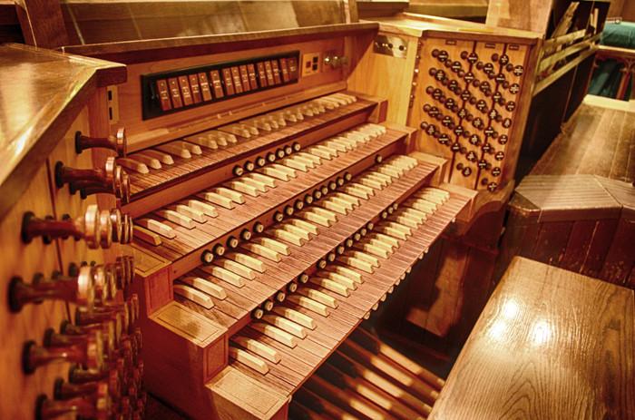 elektrische Orgel